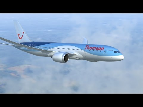 Thomson Boeing 787 Dreamliner - Flight TOM148 Manchester to Cancun