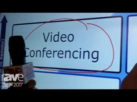 ISE 2017: NEC Display Demos InfinityBoard for Video Conferencing, Presentation and Collaboration