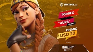 "!! FREE FORTNITE TOURNAMENT ""AURA"""