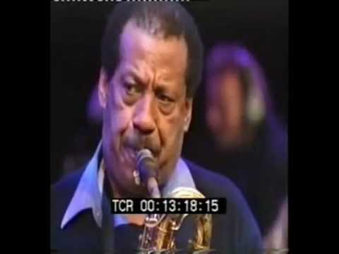 "Mario Rivera, Baritone Sax solo - ""Time On My Hands"" - Live at the Bern Jazz Festival"