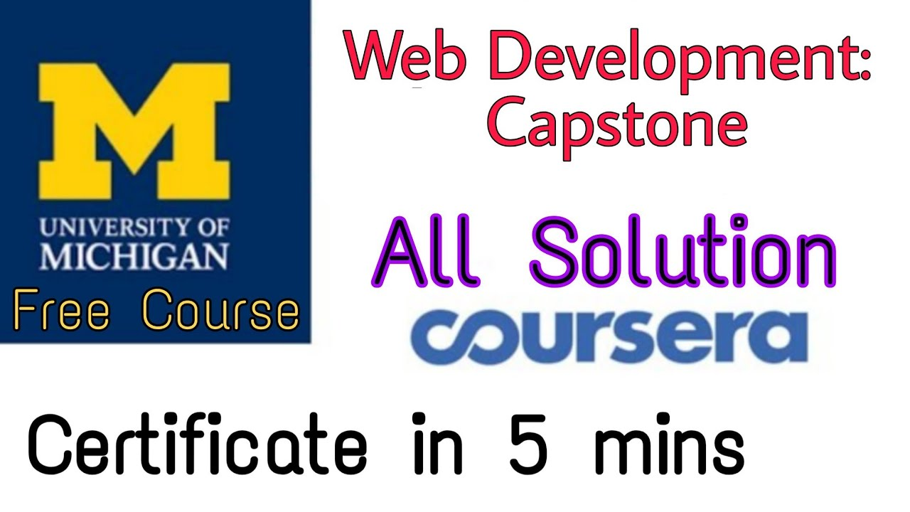 Full Answers Of Web Design For Everybody Capstone University Of Michigan Coursera Specialization Designing For Uncertainty