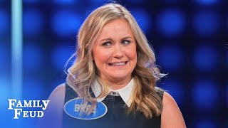 BIG COMEBACK for Bree?   Celebrity Family Feud