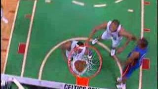 Rodney Stuckey Blows Past the Celtics