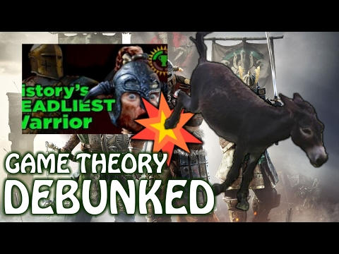 Game Theory's For Honor Video DEBUNKED By A Triggered Donkey