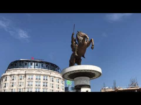 Skopje (Скопје), capital of Macedonia