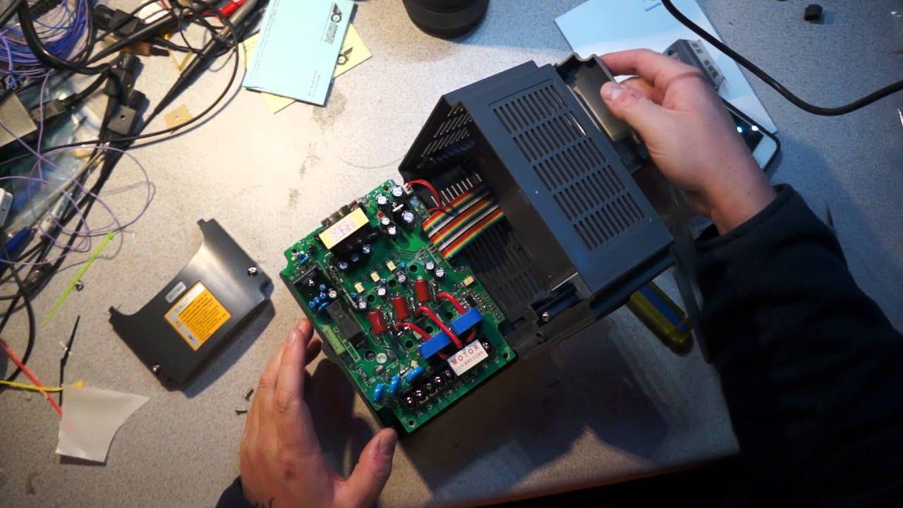 Huanyang Vfd Teardown Youtube Variable Frequency Drive Circuit Diagram Drives