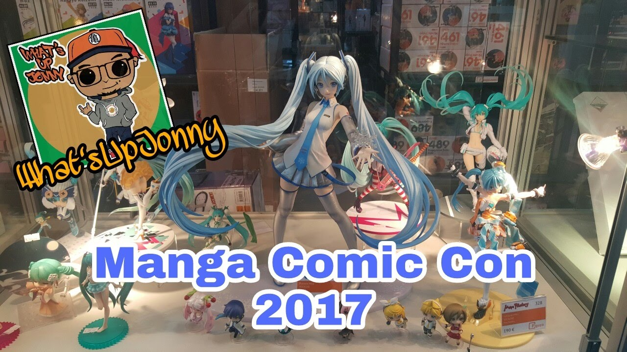 manga comic con 2017 leipzig figuren interviews youtube. Black Bedroom Furniture Sets. Home Design Ideas