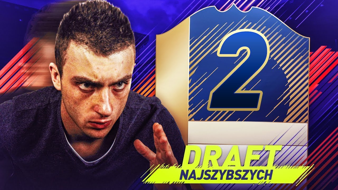 NAJSZYBSZY DRAFT + 2 IKONY | FIFA 18