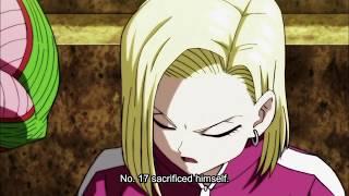 18 cries over 17's death (English subbed) - Dragon Ball Super episode 127