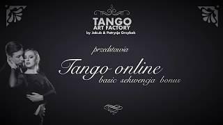Jakub Grzybek & Patrycja Cisowska- Tango ONline Lesson 13