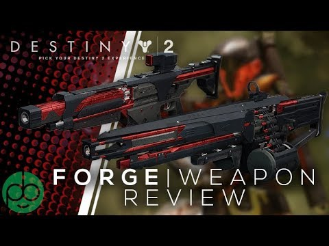Destiny 2 Black Armory: AR and LMG Forge Weapon Reviews thumbnail