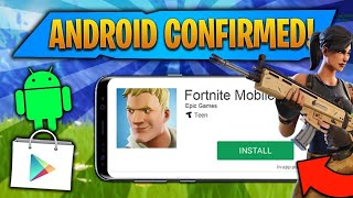 FORTNITE FOR ANDROID - RELEASE DATE AND DOWNLOAD
