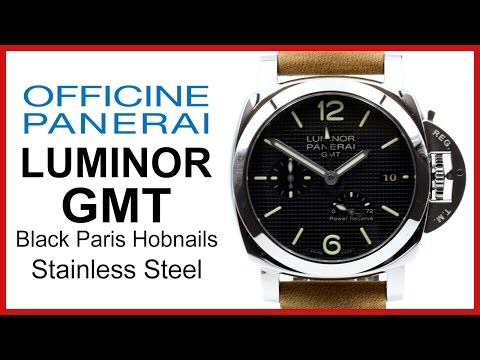 ▶ Panerai Luminor 1950 GMT 3 Days Black, Steel, Leather UNBOXING & REVIEW - 42mm, PAM 537