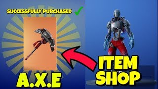 HOW TO GET HUNTING PARTY PICKAXE 'A.X.E' IN FORTNITE