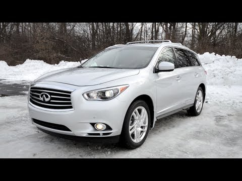 2013 Infiniti Jx35 Wr Tv Pov Test Drive Youtube