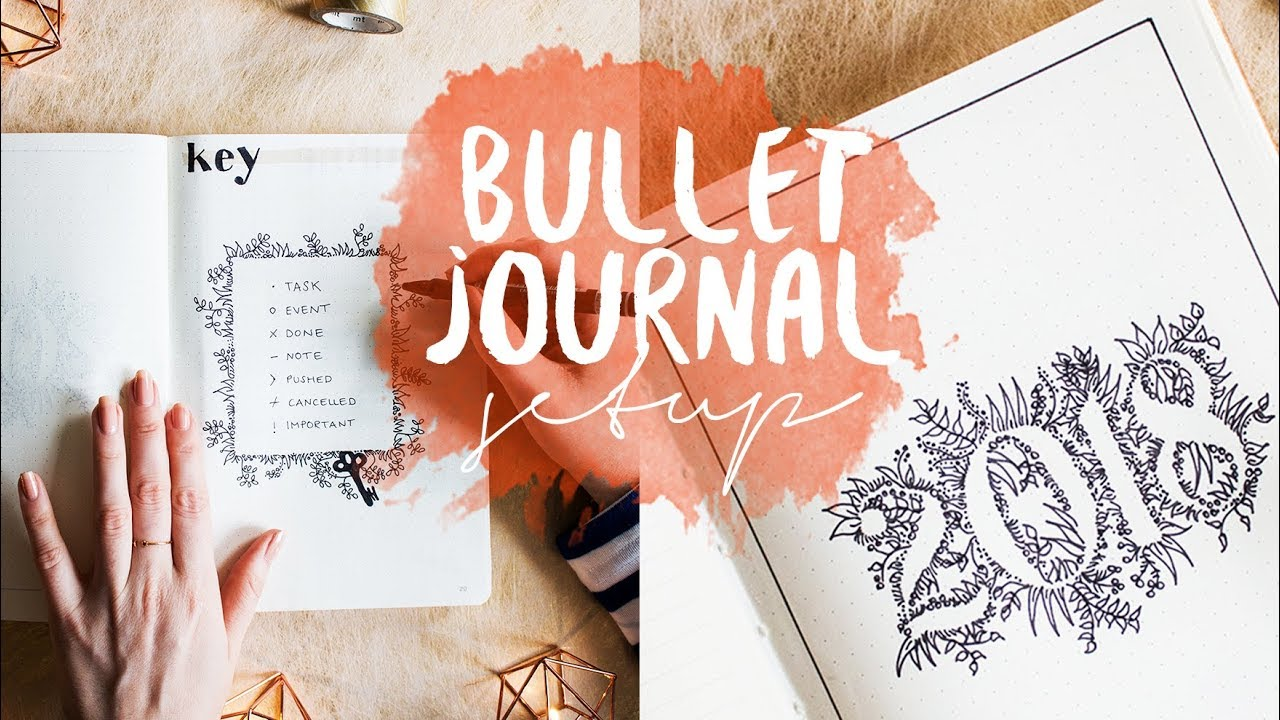 photo relating to Bullet Journal Key Printable titled The best BULLET Magazine set up 2018 absolutely free foreseeable future log printable