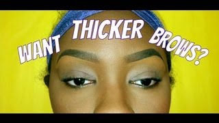 Growing out your EYEBROWS!