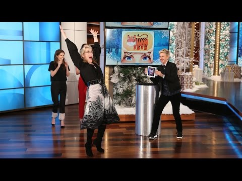 Ellen's Favorite Games: 'Heads Up!' with Meryl Streep, Anna Kendrick, & Emily Blunt