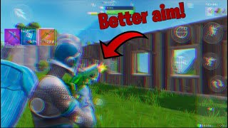 How to get better aim in Fortnite mobile 5 tips and tricks!