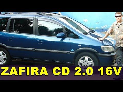 CHEVROLET ZAFIRA CD 2003 - AVALIAÇÃO
