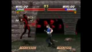 N64 Mortal Kombat Trilogy ~ 【TA】 vs 【TA】