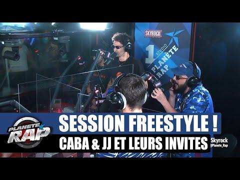 Youtube: Caballero & JeanJass – Session freestyle avec Fred, Senamo & Fukushima! #PlanèteRap