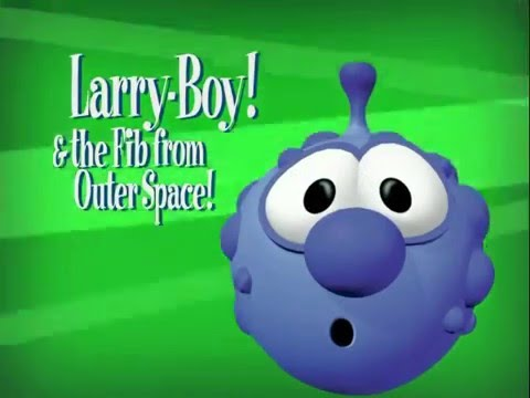 Opening To Veggietales Larryboy and The Fib From Outer ...