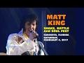 Matt King Tribute To Elvis - Sarasota, 2017