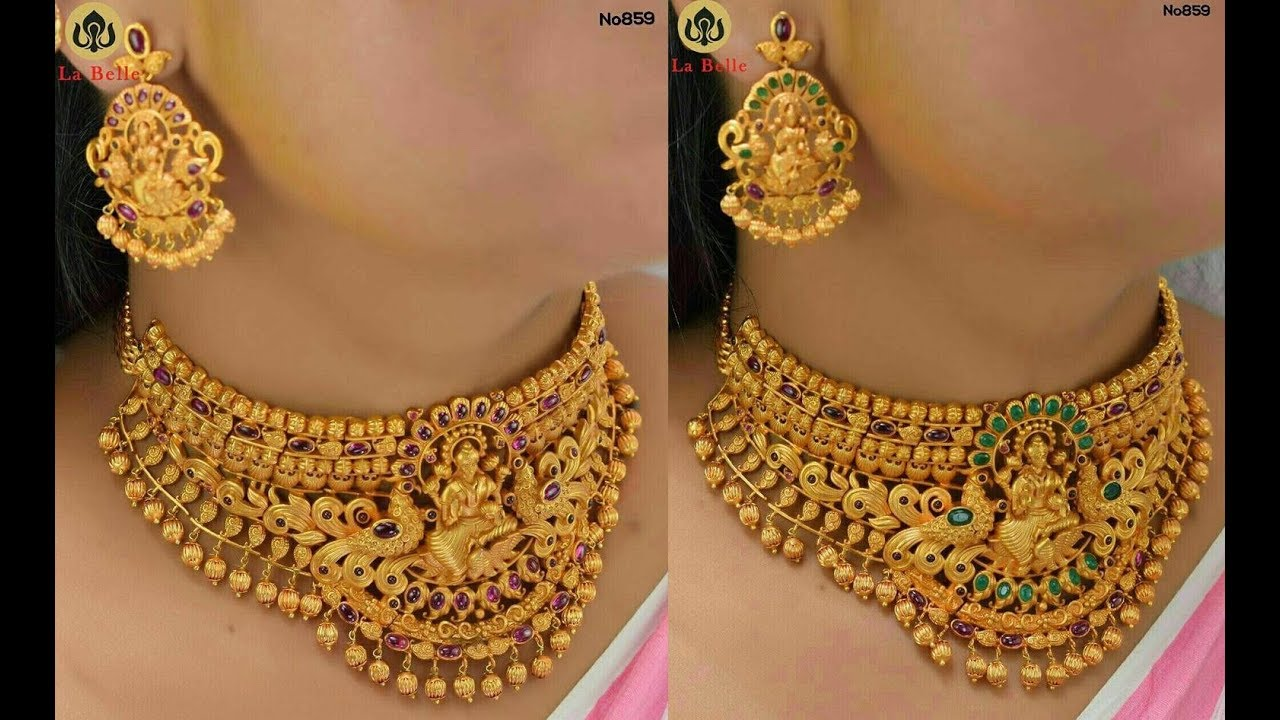latest one gram gold jewellery collection - YouTube