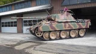 Restored Sd Kfz 171 Panther Aus. A