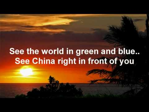 Beautiful day- U2 (Lyrics on screen)