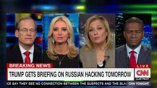 Panel scoffs after Kayleigh McEnany