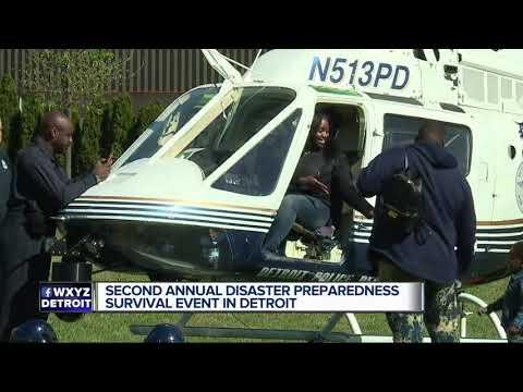 U.S. Department Of Homeland Security Hosts Preparedness Survival Event In Detroit