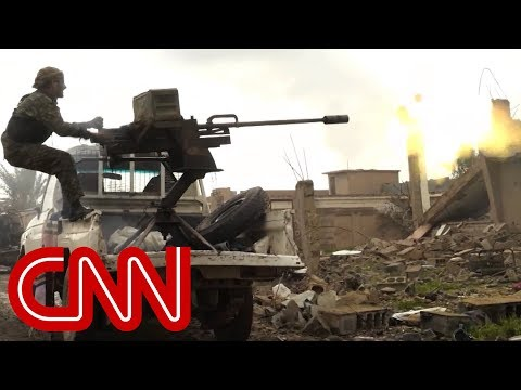CNN obtains footage of ISIS' final battle in Syria
