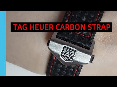 How To Replace Tag Heuer Carbon Strap