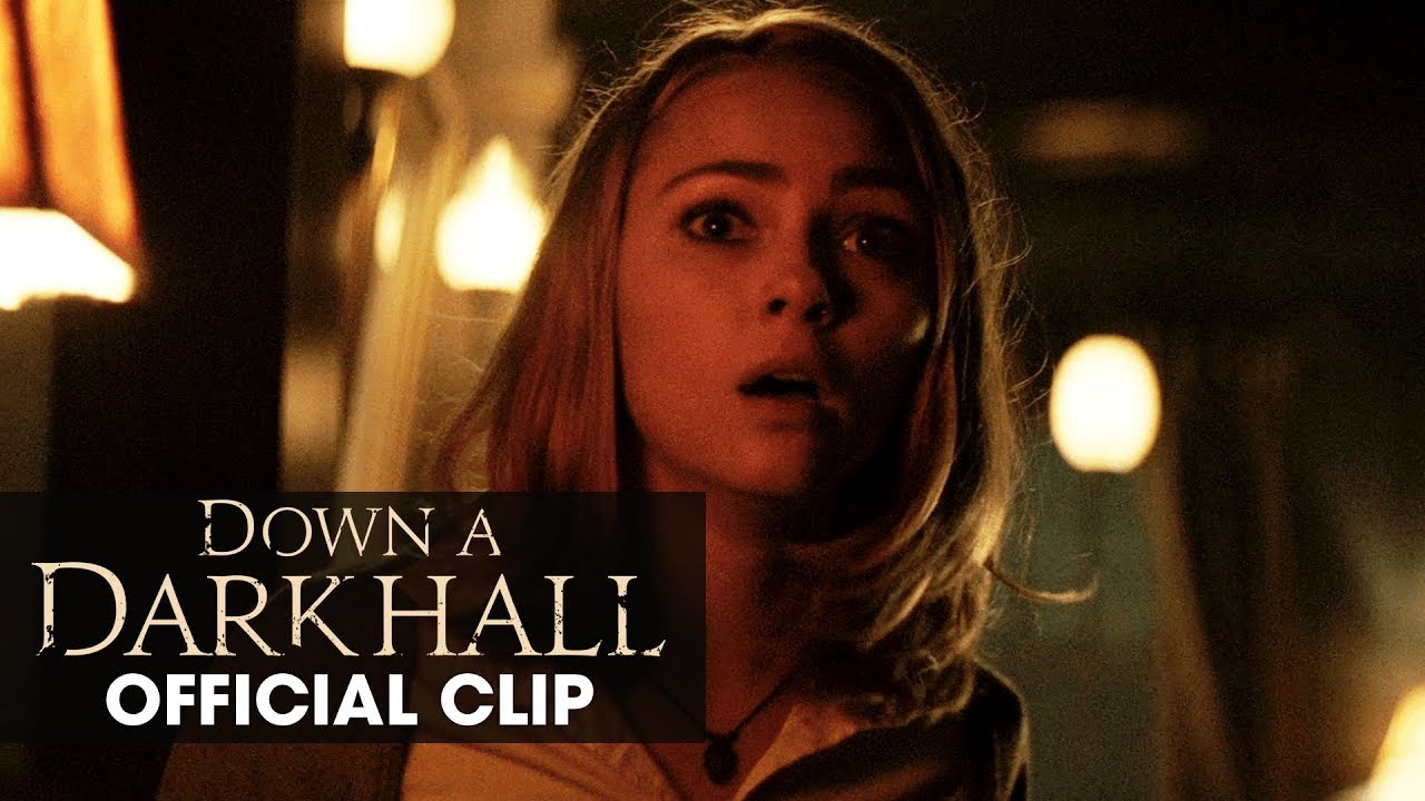 "Download Down A Dark Hall (2018 Movie) Official Clip ""Slumber Party"" – Uma Thurman, AnnaSophia Robb"