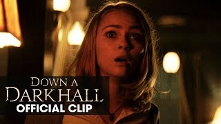 "Down A Dark Hall (2018 Movie) Official Clip ""Slumber Party"" – Uma Thurman, AnnaSophia Robb"