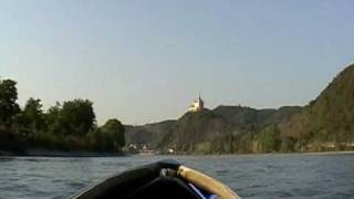 Kayak motor, Kanu motor, Kayak moteur, Canoe motor, Marksburg am Rhein