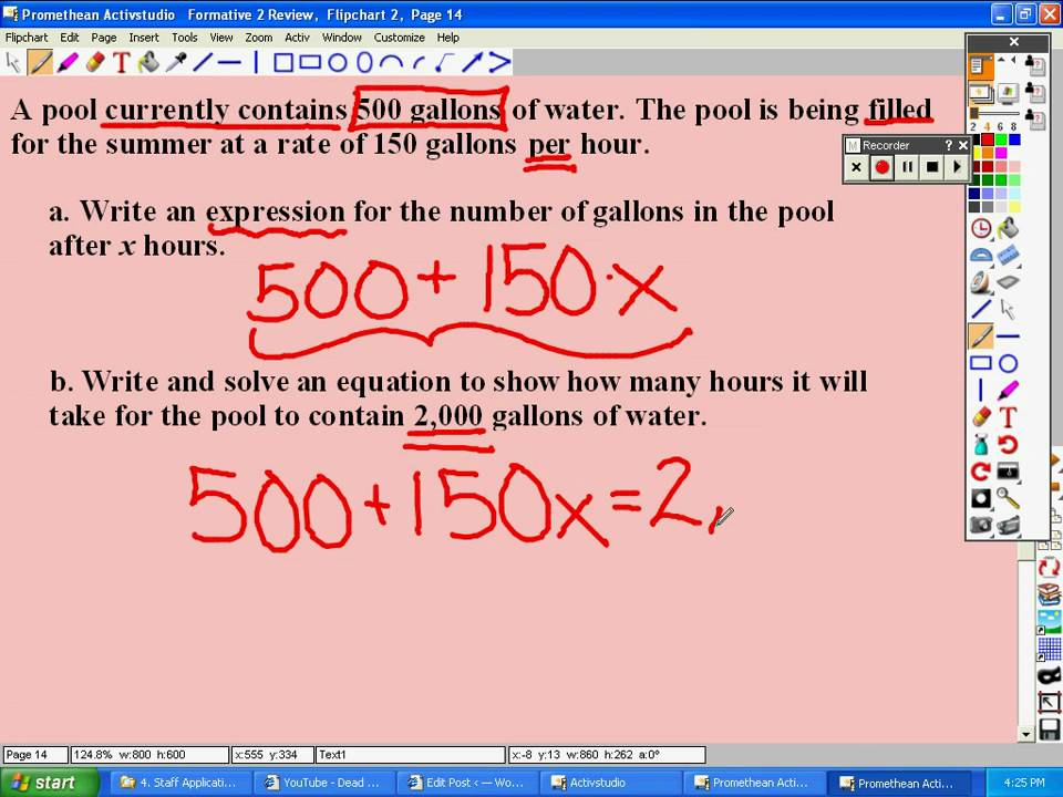Math 7 Unit 2 Form 2 Review - YouTube