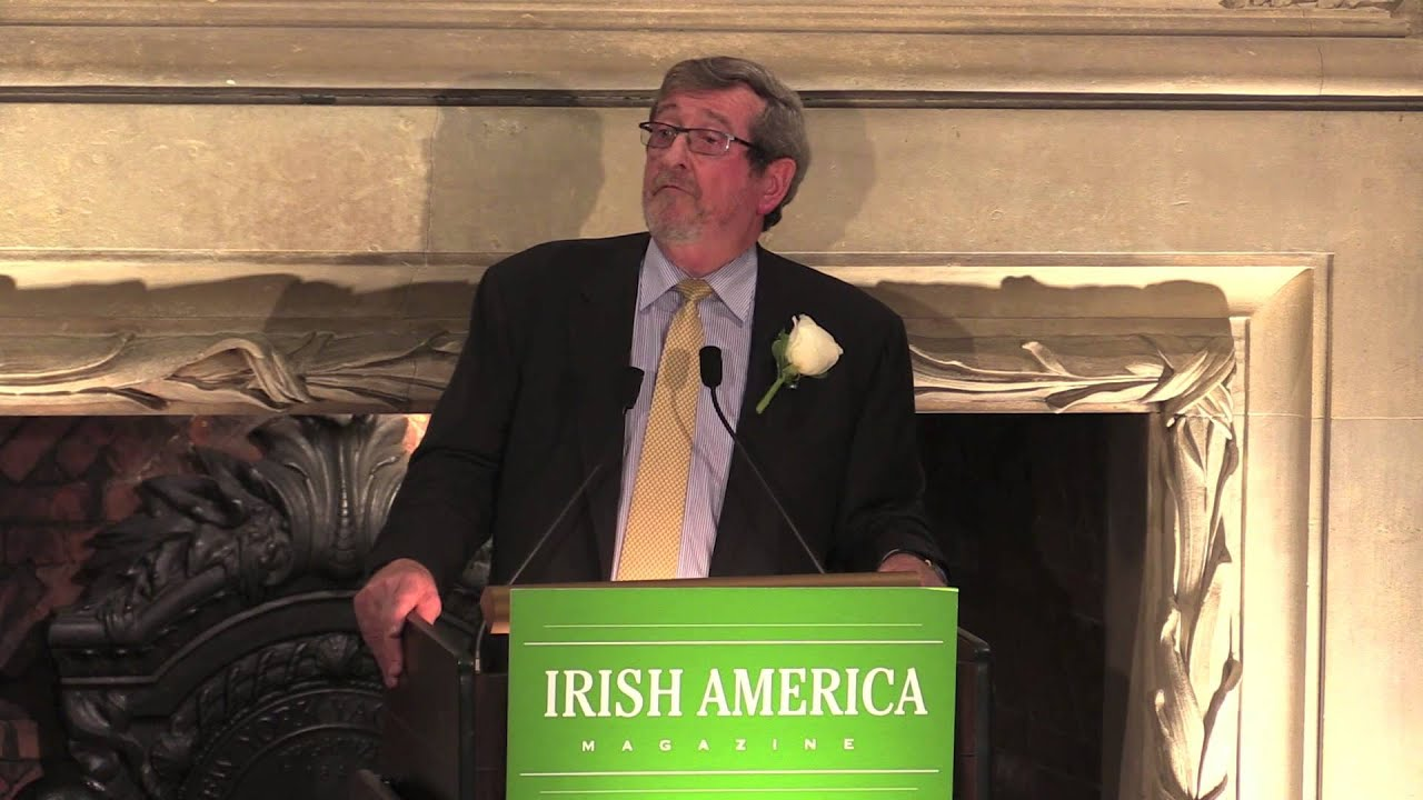 Michael Dowling delivers the keynote address at Irish America's ...