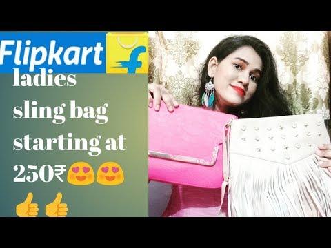 flipkart-ladies-sling-bag-hauls-starting-with-250₹//affordable-high-rating-ladies-hand-bag/
