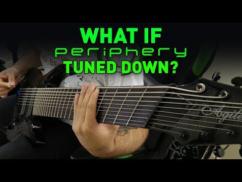 What If Periphery Tuned Down? (8, 9, 10 String Guitar Riff Compilation)