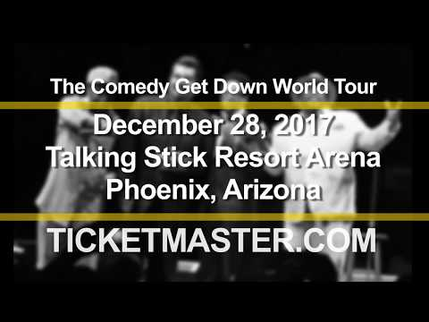 BACK BY POPULAR DEMAND: The Comedy Get Down | Talking Stick Resort Arena | 12/28