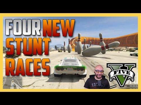 Four New Stunt Races - GTA 5 Cunning Stunts DLC | Swiftor