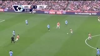 Арсенал-Манчестер Сити 1-1 ОБЗОР МАТЧА,29.03.2014