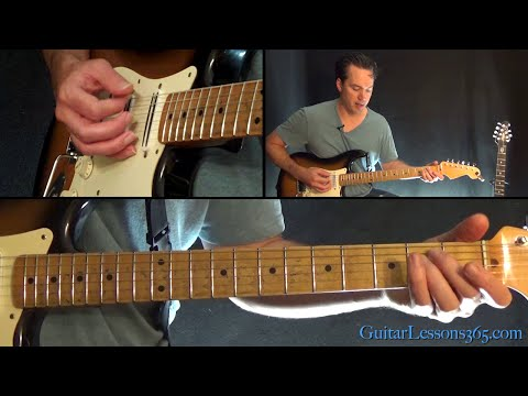18 and Life Guitar Lesson (Chords/Outro Solo) - Skid Row