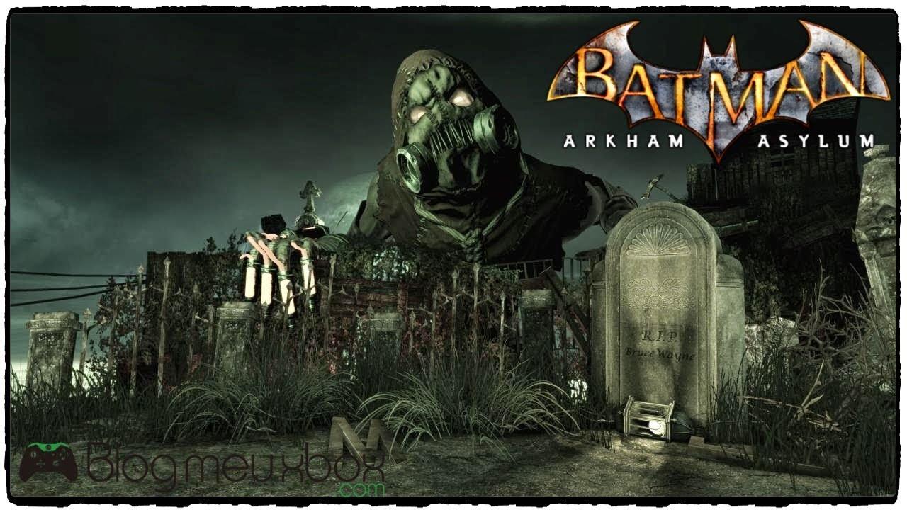 Batman Arkham Asylum Book