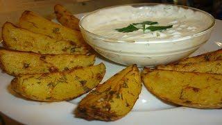 Картошка по-деревенски в духовке. Простой и вкусный рецепт!