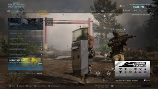 CoD MW Getting The New Guns Gold