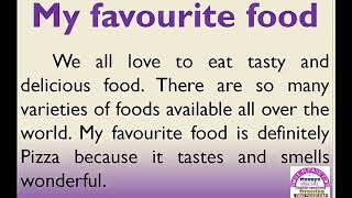 My Favourite Food Essay In English Youtube